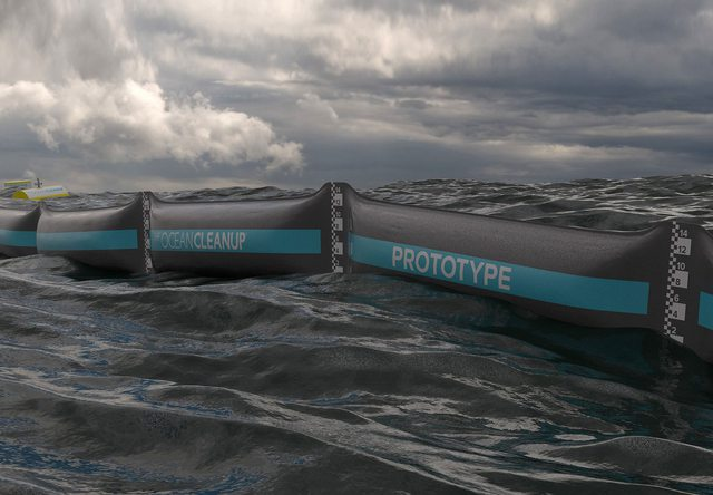 Ocean Cleanup - Fabrique Computer Graphics